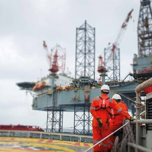 Offshore Oil and Gas Smartphones