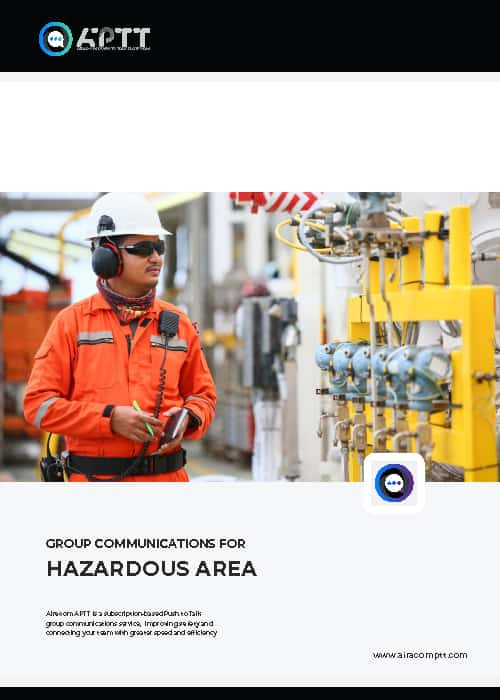 Push to Talk Oil and Gas Brochure