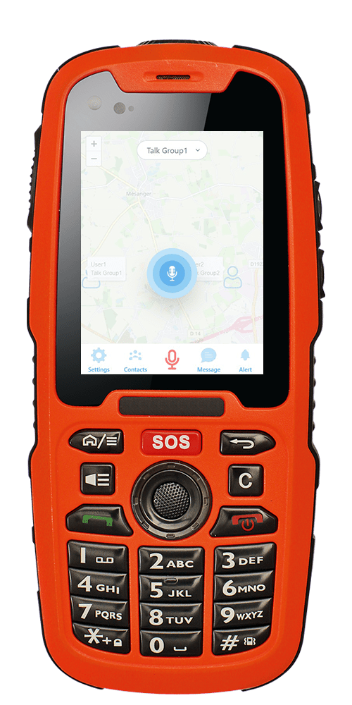 IS320.1 Intrinsically Safe Mobile Phone