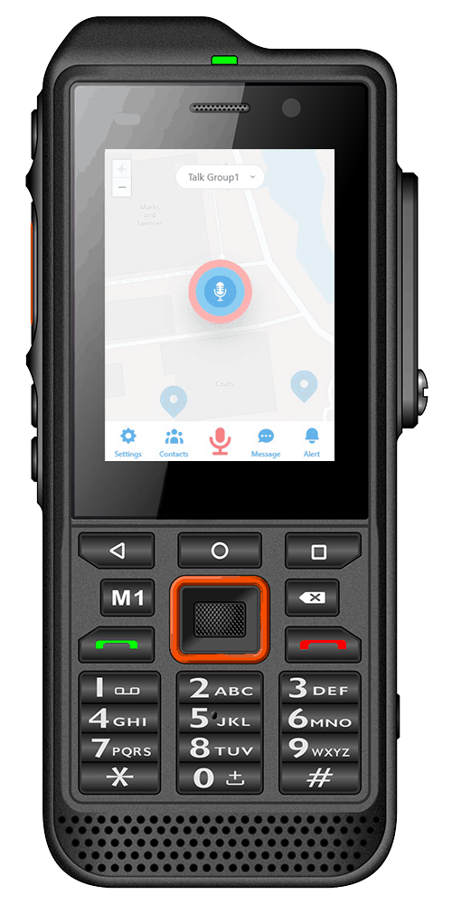 IS330.1 Intrinsically Safe Smartphone